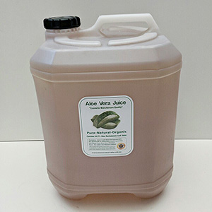 8 x 20 Litre Cosmetic Manufacture  Aloe Inner Leaf Juice