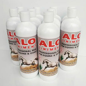 10 x 500mL Aloe Liniment for Animals