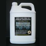5 Litre 10:1 Aloe Vera Inner leaf Concentrate (5 Litres makes 50 Litres)