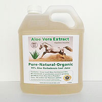 24 x 4 Litre Aloe Juice for Equine