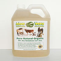 24 x 4 Litre Aloe Juice for Animals
