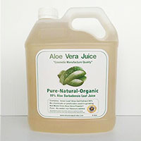 24 x 4 Litre Cosmetic Manufacture Aloe Juice